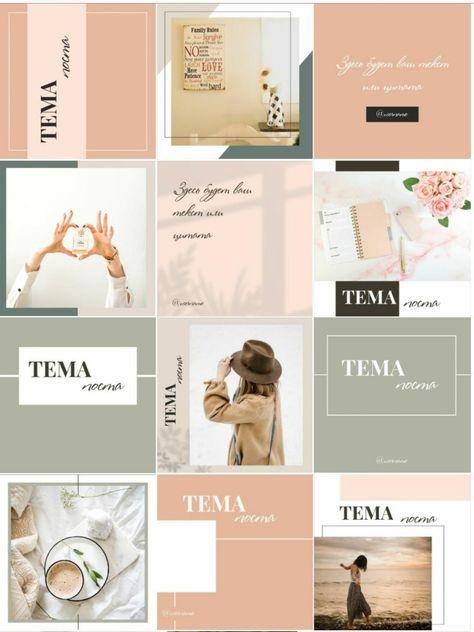I will design instagram post templates