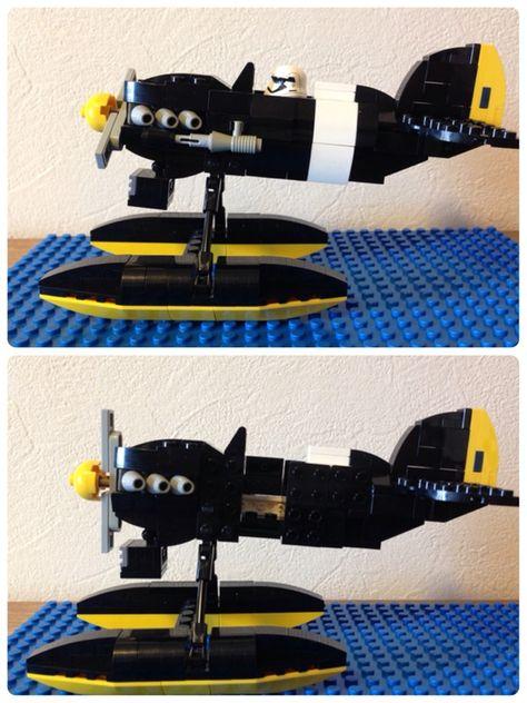 カーチスR3C,0 非公然戦闘水上機 【レゴ・再現系・ジブリ(紅の