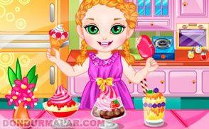 Bebek Dondurma Bebek Neseli Oyun