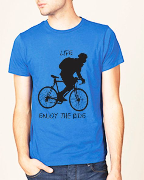 Bike T Shirt Racing bicycle gift cycling tshirt