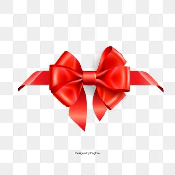 Red And Ribbons Ribbon Invite Png Transparent Clipart