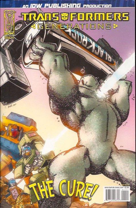 Transformers Generations 11A (2006 IDW)
