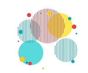 Colorful Circle Png Transparent Element Desain Png