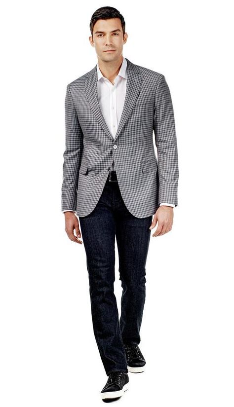 Gray and Brown Check Jacket  #menswear #mensfashion #graysuit #mensstyle #glennplaid #wedding #weddingsuit #groom #groomssuit #groomsmen #groomsman #weddingstyle #suitandtie #bluesuit #plaidsuit #strippedsuit #pinstripes #tux #tuxedo #weddingtuxedo #blacktux #plaid #plaidjacket