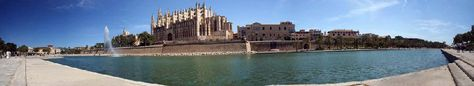Palma de Mallorca  A small Island off the cost of Spain.   Possible honeymoon spot? I think yes