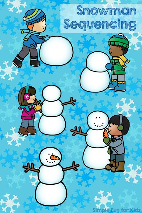 Free Printables for Kids: Do you want to build a snowman? Cute snowman sequencing printable for toddlers and preschoolers! Fun Activities For Preschoolers, Winter Activities For Kids, Sequencing Activities, Kindergarten Activities, Preschool Winter, Winter Fun, Winter Theme, Build A Snowman, Free Printables