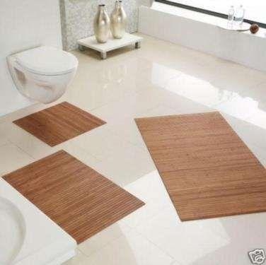 Bambus Vorleger Badezimmer Bambusvorlegerbadezimmer