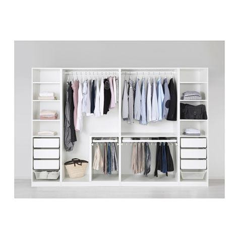 PAX Kleiderschrank, weiß Pax kleiderschrank, Kleiderschränke und - schlafzimmerschrank selbst bauen