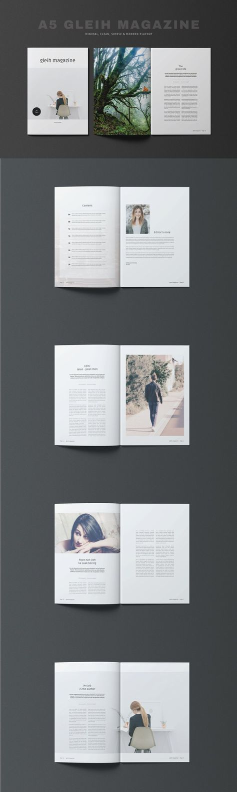 A5 Gleih Magazine