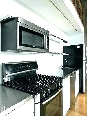 install range hood without cabinet