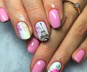 157 images about uñas ☆ on We Heart It | See more about nails, nail art and pink