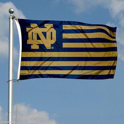 Notre Dame Nation Banner Flag