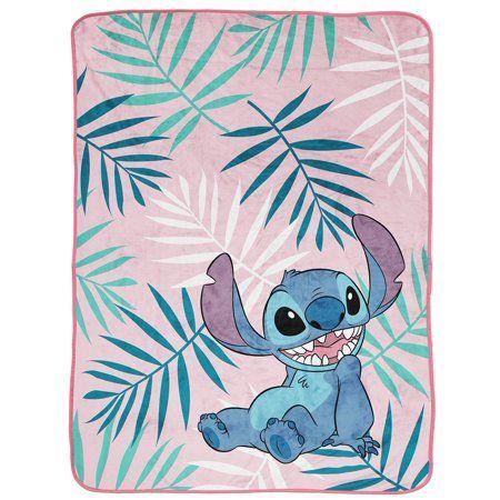 Lilo Stitch Misty Palm Throw Walmart Com In 2021 Lilo And Stitch Stitch Disney Lelo And Stitch