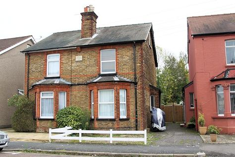 Jimmy Page childhood home. He and his parents lived at 34 Miles Road, Epsom (immortalised in the song 'Miles Road' that he recorded with Eric Clapton in 1965