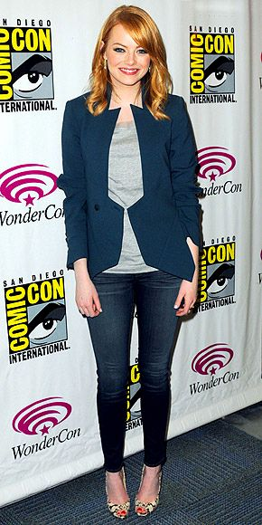 Todd Lynn jacket, gray tee, J Brand skinny jeans