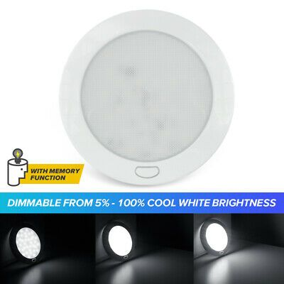 Sponsored Ebay Rv Light Fixtures Camper Boat Interior Led Ceiling Dome Light Dimmable Cool W 5 In 2020 Interior Led Lights Led Recessed Ceiling Lights Rv Led Lights