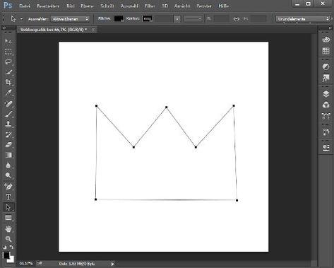 vektorgrafik mit photoshop erstellen so geht s berg vektor herz
