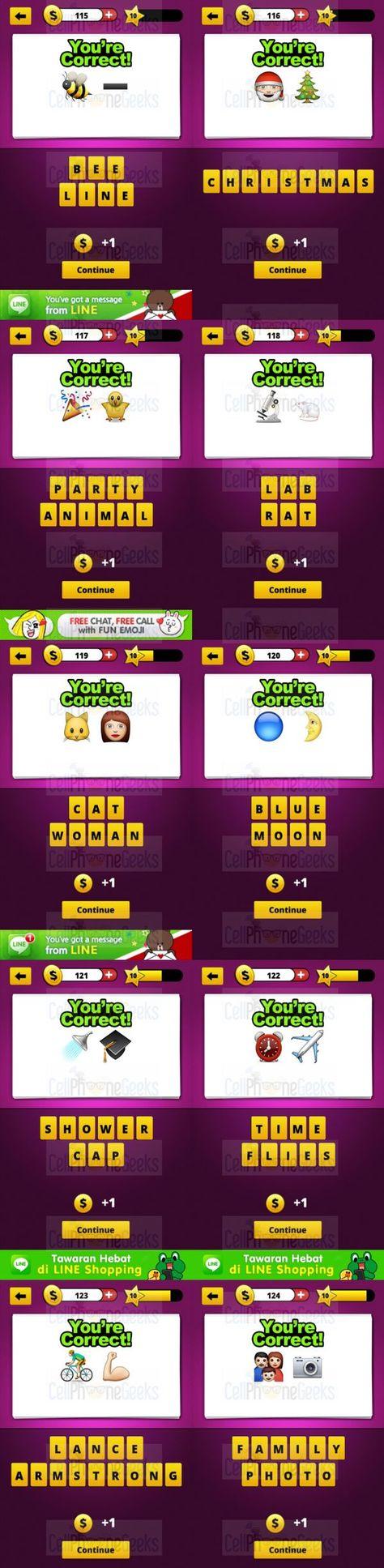 Guess The Emoji Level 10 Answers Guess The Emoji Answers Guess The Emoji Emoji Answers