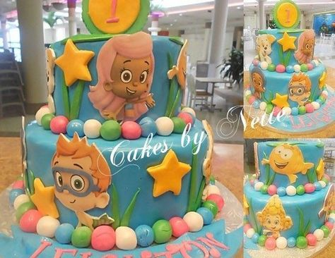 Bubble Guppies Cake, Cakes By Nette