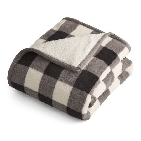 Better Homes And Gardens Plush Sherpa Throw