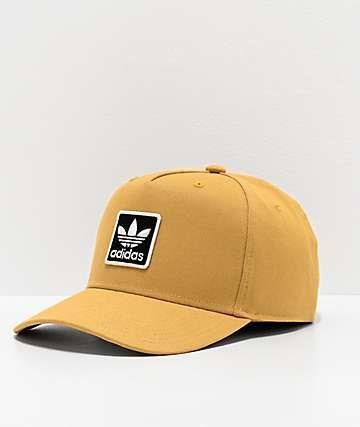 Adidas Originals Dart Trefoil Sand Snapback Hat Zumiez Snapback Hats Snapback Hats