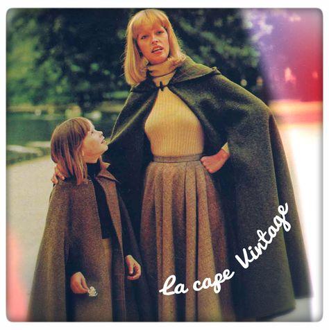 Modèle de cape facile à réaliser  Matériel : 3,50 m de tissu pour le modèle femme 2,10 m de tissu pour le modèle enfant