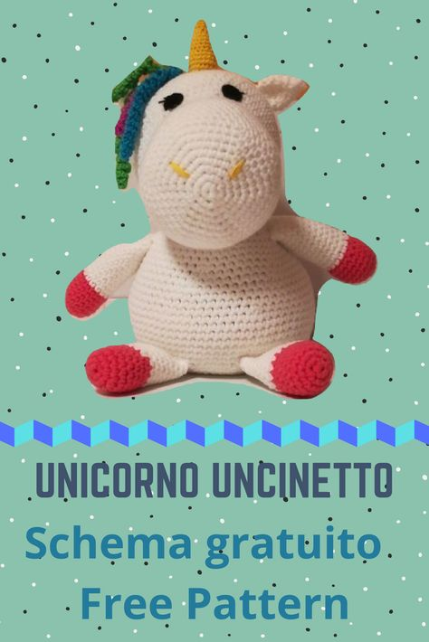 AMIGURUMI UNICORNO TUTORIAL ! Unicorn crochet 💕 - YouTube | 710x474