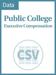 Executive Compensation At Public And Private Colleges The