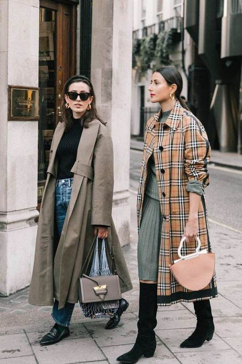 Lfw fall street style i (collage vintage) vogue pinter