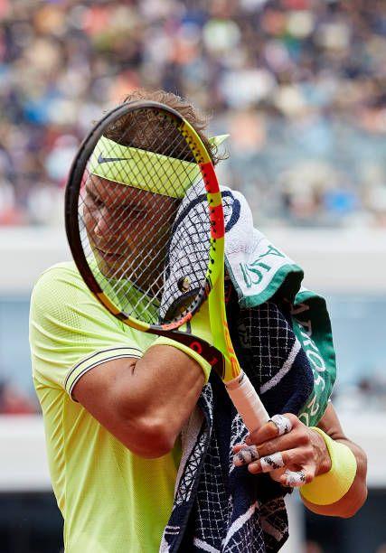 2019 French Open Final Rafael Nadal Vs Dominic Thiem Tennis Rafael Nadal Tennis Racquet