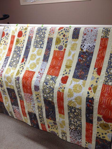 Marmalade Grey Quilt | Urban Quiltworks