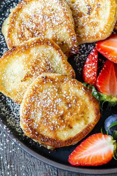 Cottage Cheese Pancakes (Quick & Easy) - Momsdish