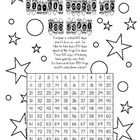 100th day number scavenger hunt. I put numbers 1-100 on colored, removable stickers all around my classroom. The students color each square on the ...
