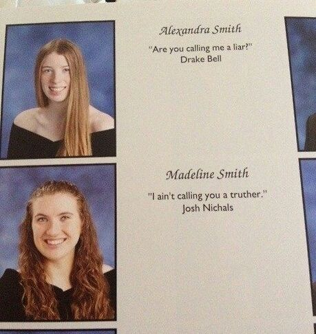 Funny pictures about Yearbook quote win. Oh, and cool pics about Yearbook quote win. Also, Yearbook quote win.
