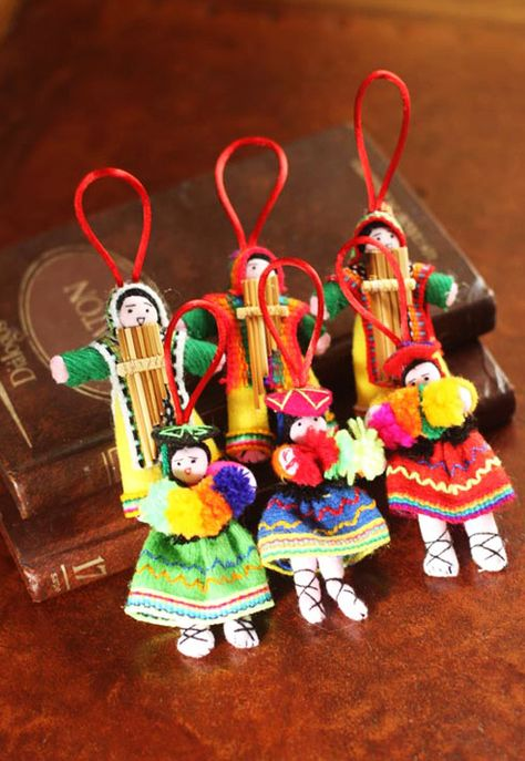Buy Cotton ornaments, 'Andean Dancers' (set of today. Shop unique, award-winning Artisan treasures by NOVICA, in association with National Geographic. Each original piece goes through a certification process to guarantee best value and premium quality.