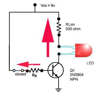 Transistor Switching | Free Electronics Circuits | Pinterest ...