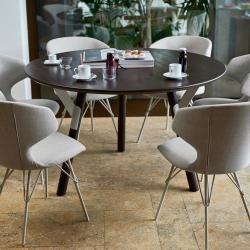 Esstisch Rund H 65 Cm Varaschin Varaschin Mein Blog In 2020 Round Dining Table Table Dining Table