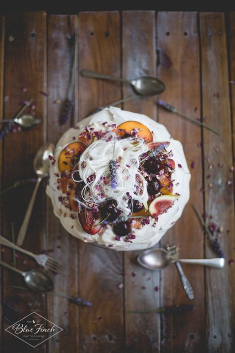 Decadent Wedding Pavlova with Tart Raspberry Sauce: instead of a ...