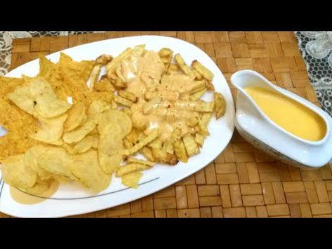 صوص الجبنه الشيدر زى المطاعم Youtube Food Peanut Butter Cheese