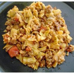 """Cabbage Roll Casserole 