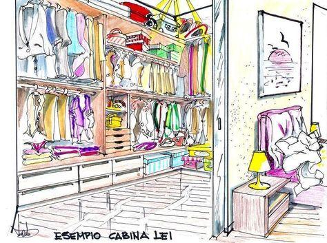 armadio armadioArmadio leiCabina Cabina cabina e Disegno 45LjAR