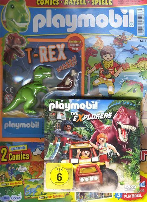 Auf 36 Seiten Werden Die Spielfiguren Im Playmobil Magazin Zum