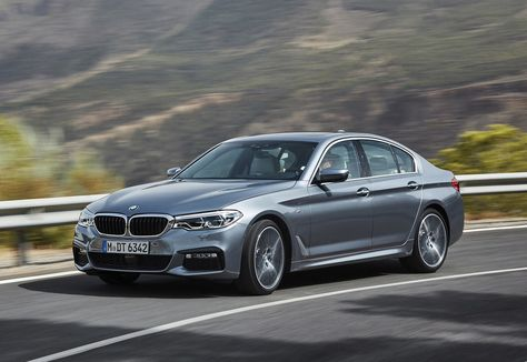 All New Bmw 5 Series Breaks Cover Serier