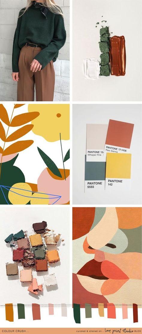 Colour crush...Branding design, branding yourself. Board with color palette  #branding #brandinginspiration #brandingidentity