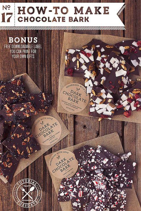 How-to Make Chocolate Bark // Tasty Yummies