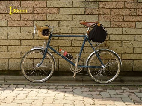 ステムとハンドル交換 451のミニベロ ミニベロ ミニベロ 自転車 自転車