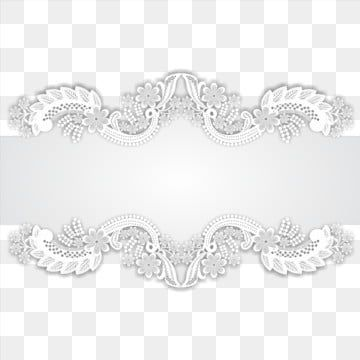 Lace Border Card Vector Border Vector Lace Vector Png Transparent Image And Clipart For Free Download Flower Border Png Lace Background Wedding Borders