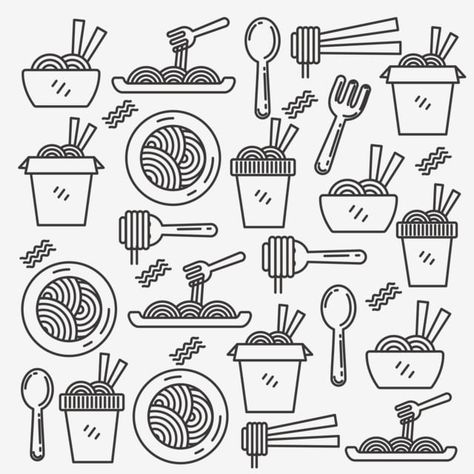 10++ Chinese food clipart black and white ideas