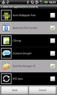 Android App Android App Bluetooth File Transfer