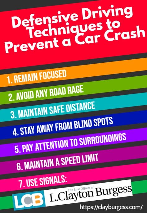 Are You Following These Defensive Driving Techniques to Prevent a Car Crash?